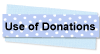 Use of Donation